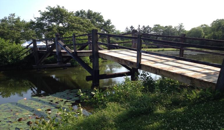 Lynden Structure Garden Bridge Repair Milwaukee Wi